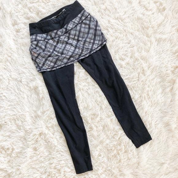 Athleta Dresses & Skirts - Athleta Plaid Skapri Skirt Pants